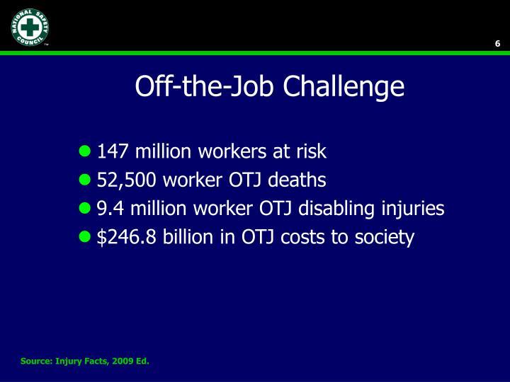 Off-the-Job Challenge