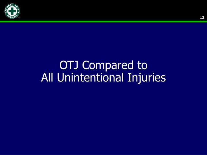 OTJ Compared to