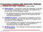 concurrency control with optimistic methods1