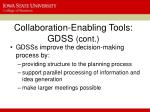 collaboration enabling tools gdss cont1