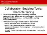 collaboration enabling tools teleconferencing1