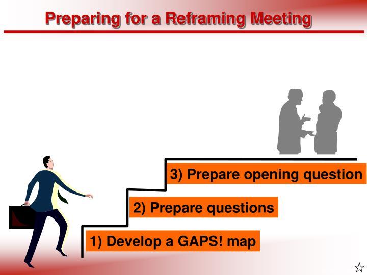 Preparing for a Reframing Meeting
