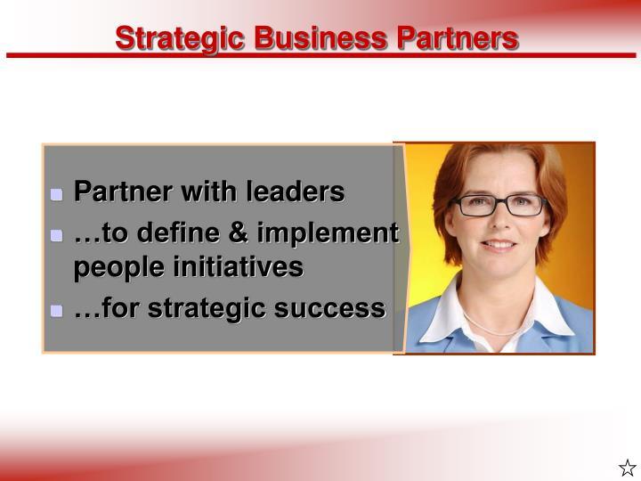 Strategic Business Partners
