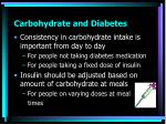 carbohydrate and diabetes2