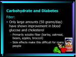 carbohydrate and diabetes7