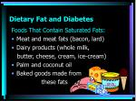 dietary fat and diabetes1
