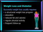 weight loss and diabetes1