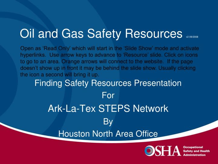Oil and gas safety resources v2 09 2008