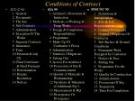 conditions of contract1