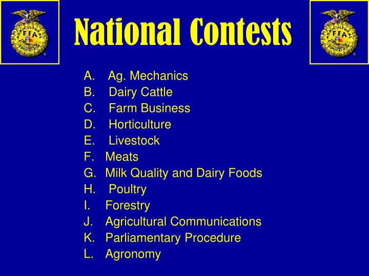 National Contests