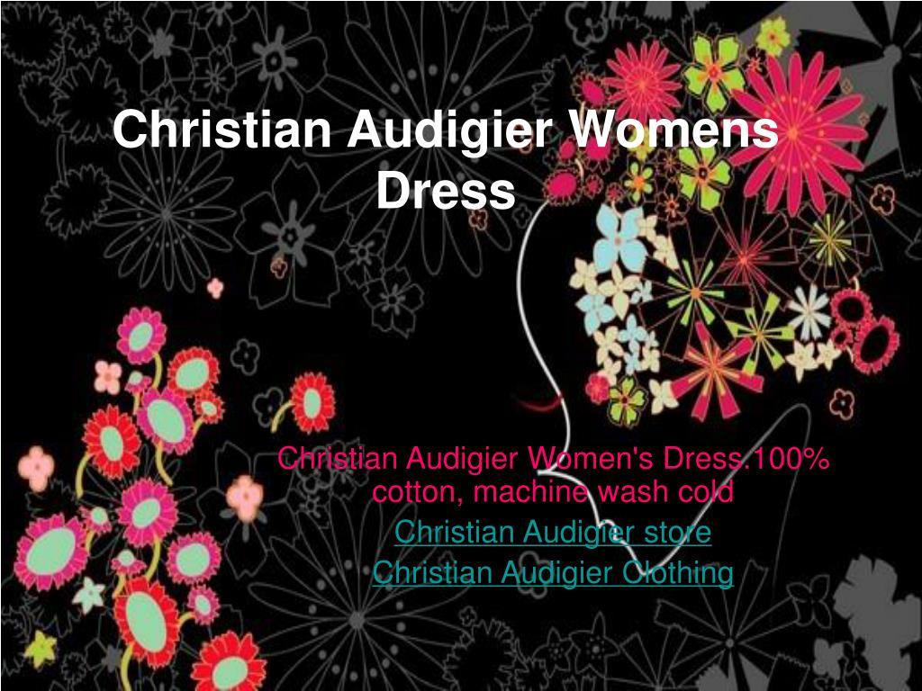 Christian Audigier Womens Dress