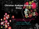 christian audigier womens dress