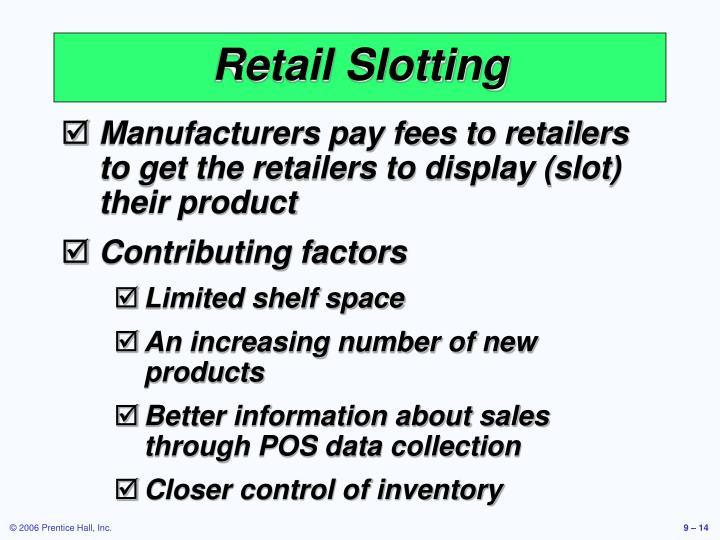 Retail Slotting