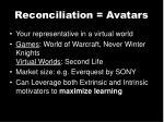 reconciliation avatars1
