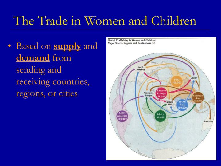 The trade in women and children
