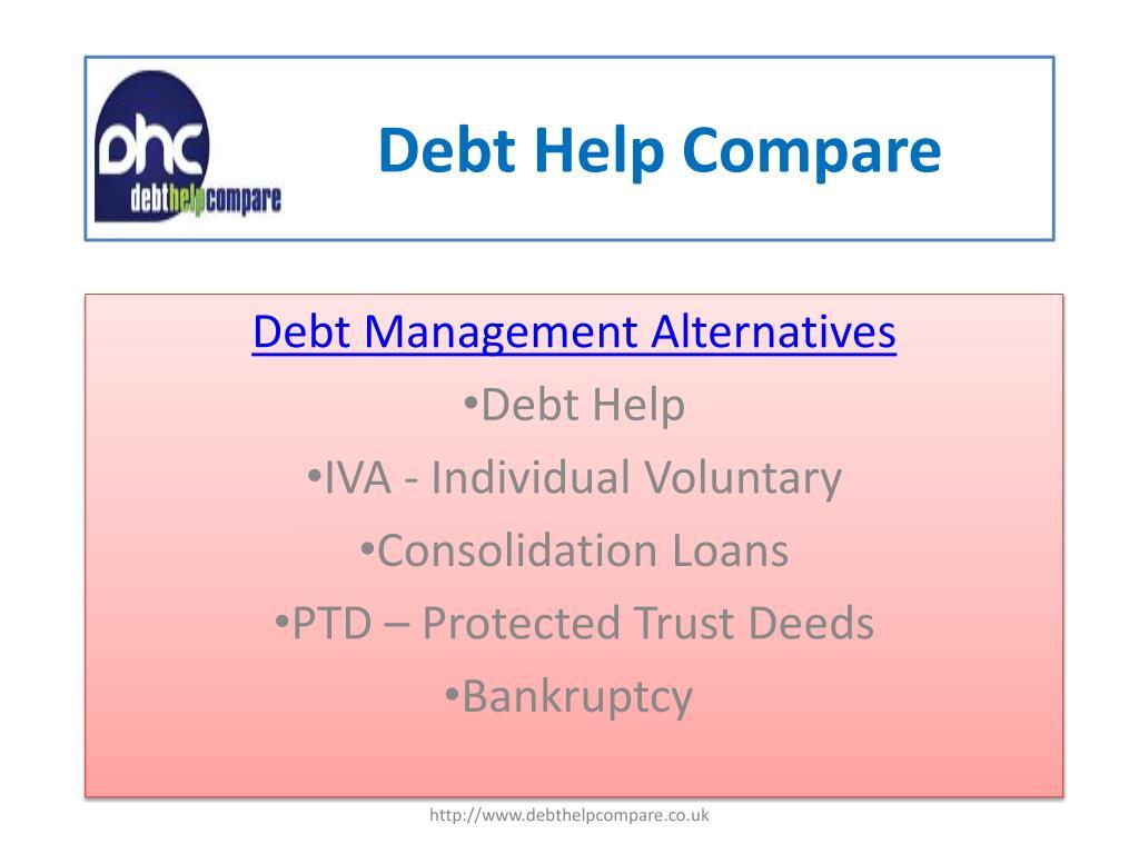 debt help compare l.