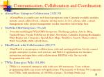 communication collaboration and coordination