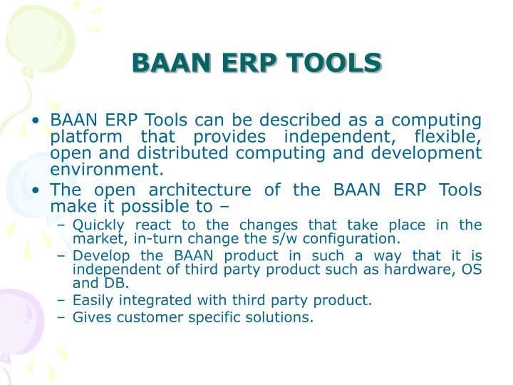 BAAN ERP TOOLS