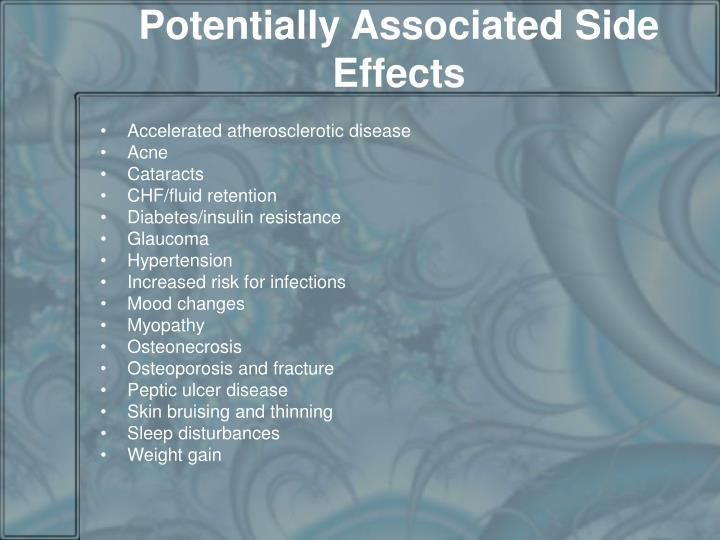 Potentially Associated Side Effects