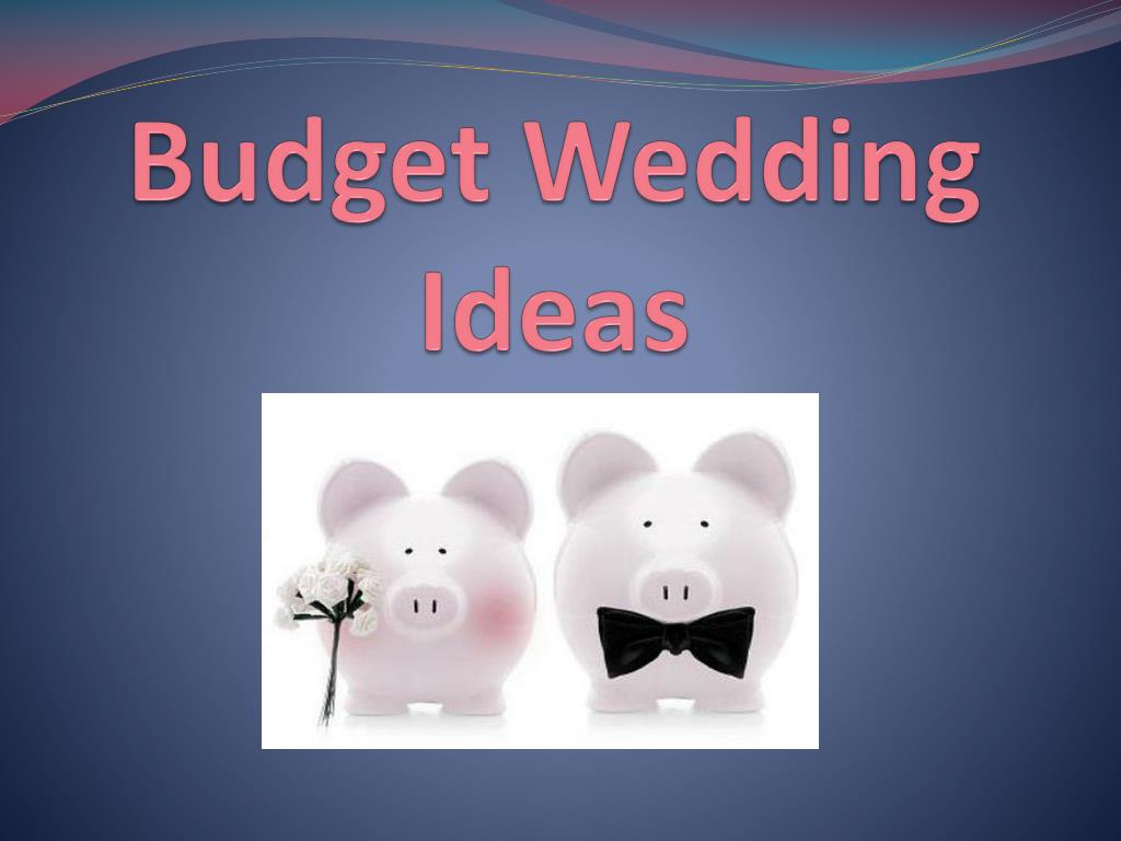 budget wedding ideas l.