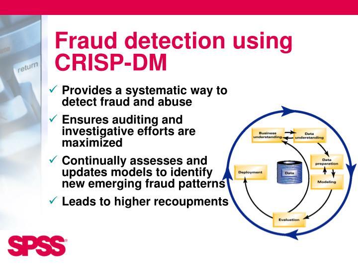 Fraud detection using