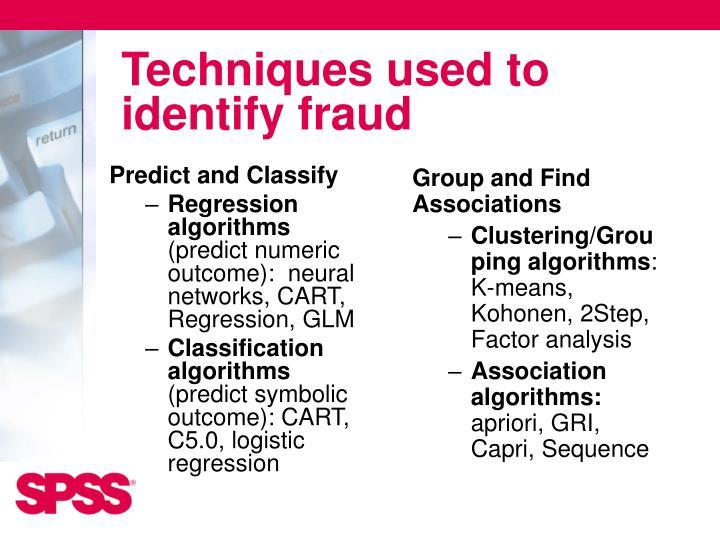 Predict and Classify