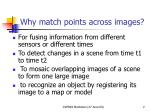 why match points across images