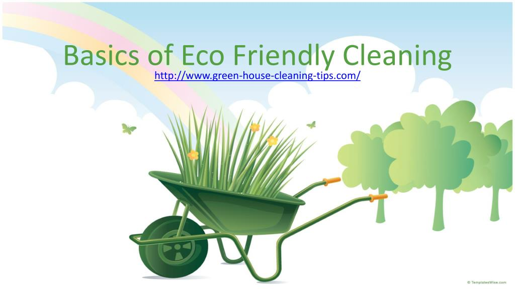 basics of eco friendly cleaning l.