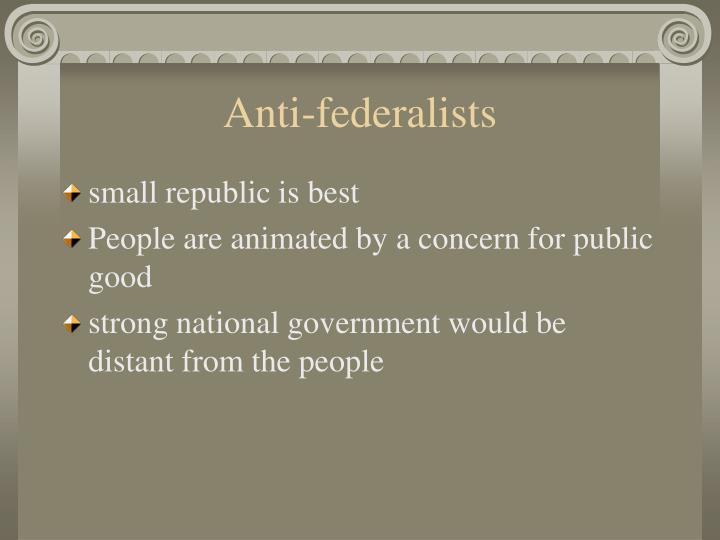 Anti-federalists