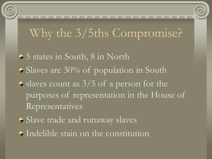 Why the 3/5ths Compromise?