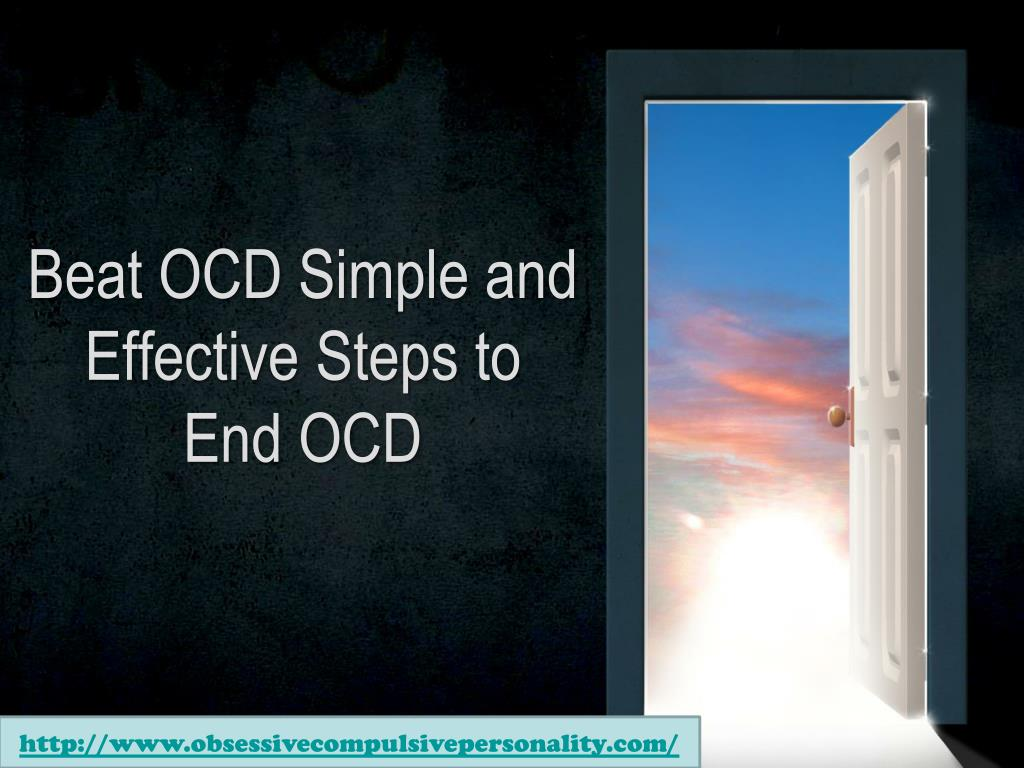 beat ocd simple and effective steps to end ocd l.