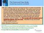 the cazenove case study auctioning a business worldwide