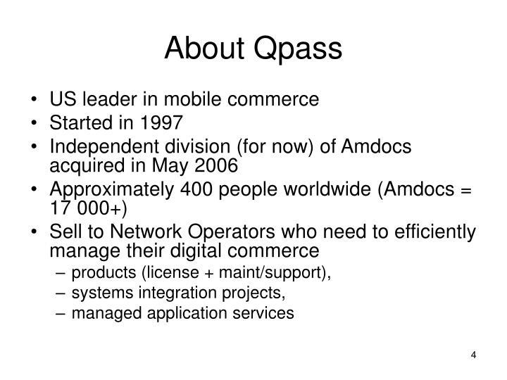 About Qpass