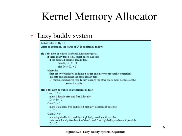 Kernel Memory Allocator