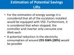 estimation of potential savings lifts3