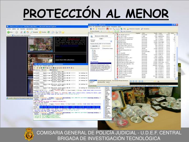 PROTECCIÓN AL MENOR