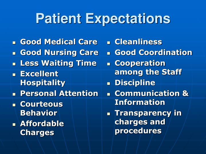 Good Medical Care