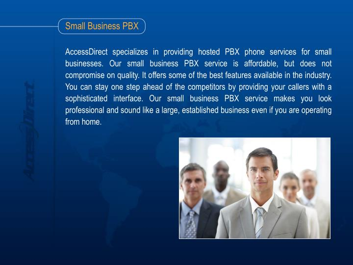 Small business pbx