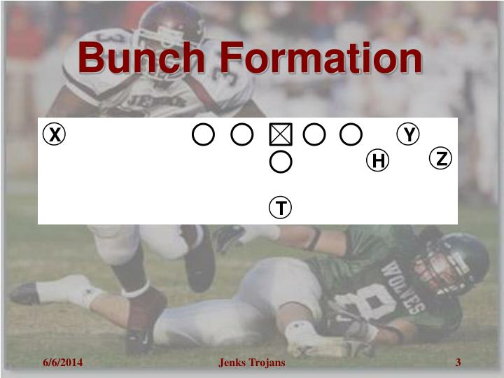 Bunch formation