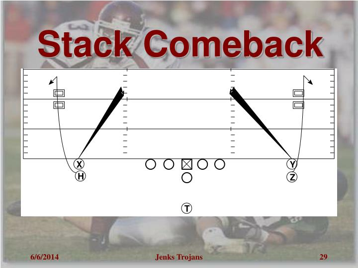 Stack Comeback