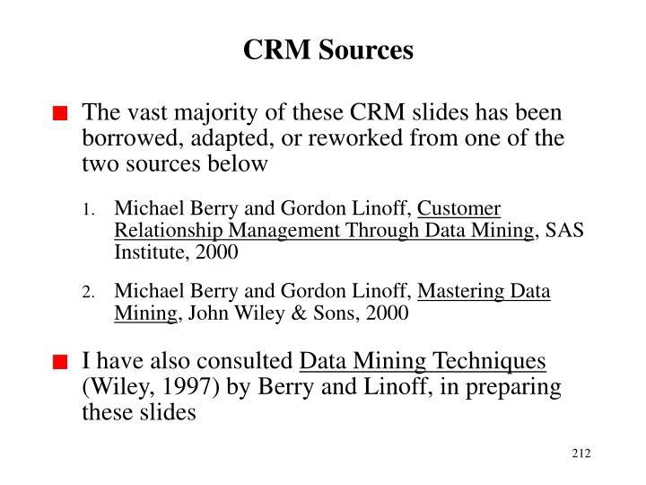 CRM Sources