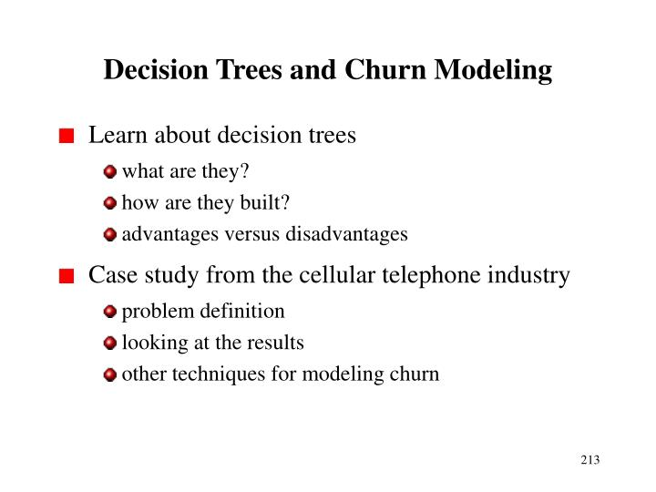 Decision Trees and Churn Modeling