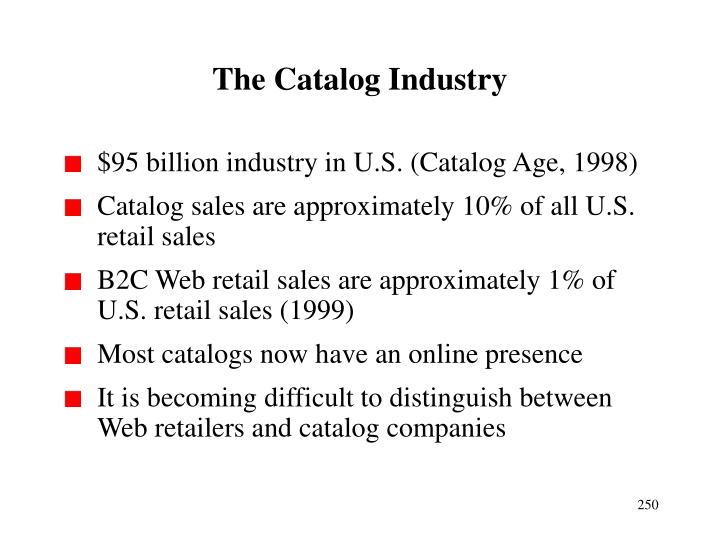 The Catalog Industry