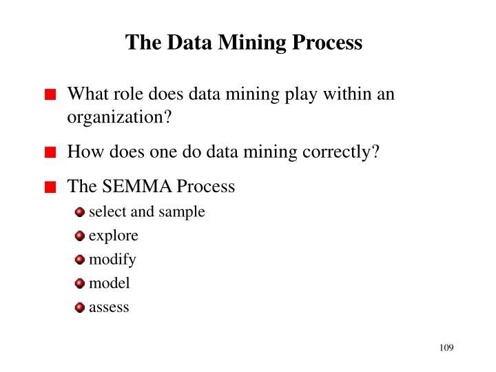 The Data Mining Process