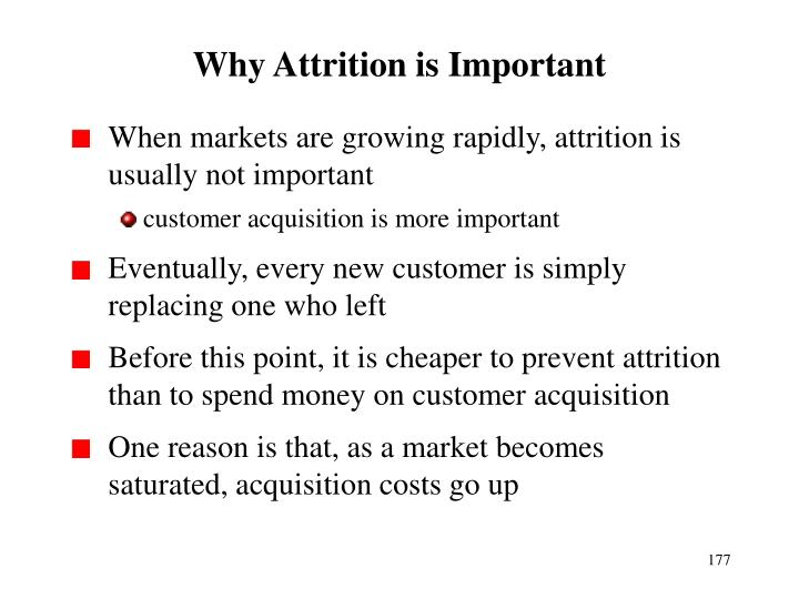 Why Attrition is Important