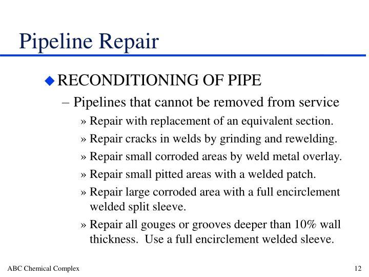 Pipeline Repair