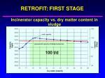 retrofit first stage