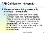 apb opinion no 16 contd1