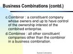 business combinations contd1