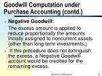 goodwill computation under purchase accounting contd